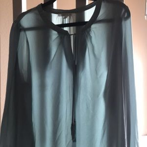 Turquoise spring top
